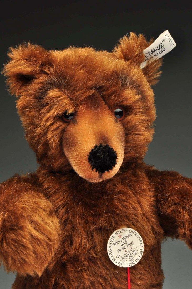 Lot Of 3: Brown Mohair Novelty Style Steiff Bears. - 10