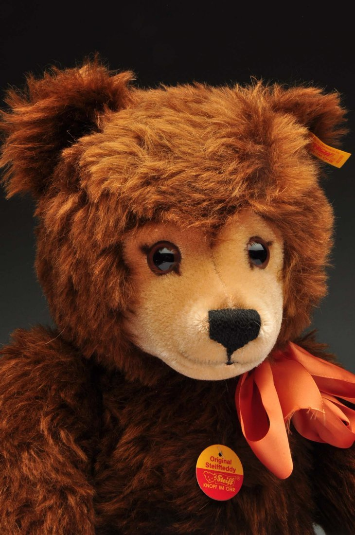 Lot Of 3: Brown Mohair Novelty Style Steiff Bears. - 2