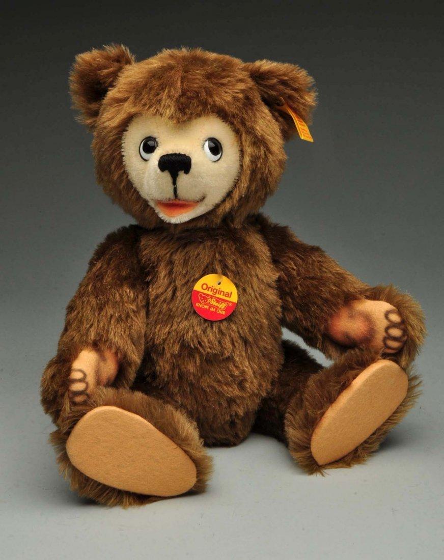 Lot Of 3: Brown Mohair Novelty Style Steiff Bears. - 5