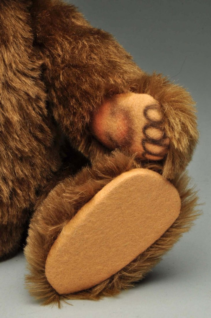 Lot Of 3: Brown Mohair Novelty Style Steiff Bears. - 7