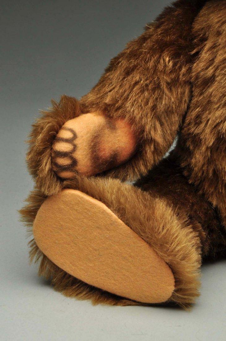 Lot Of 3: Brown Mohair Novelty Style Steiff Bears. - 8