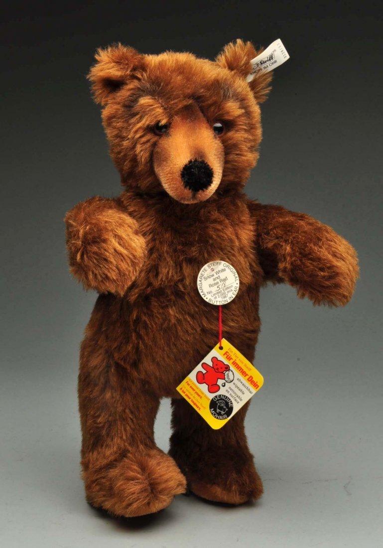 Lot Of 3: Brown Mohair Novelty Style Steiff Bears. - 9