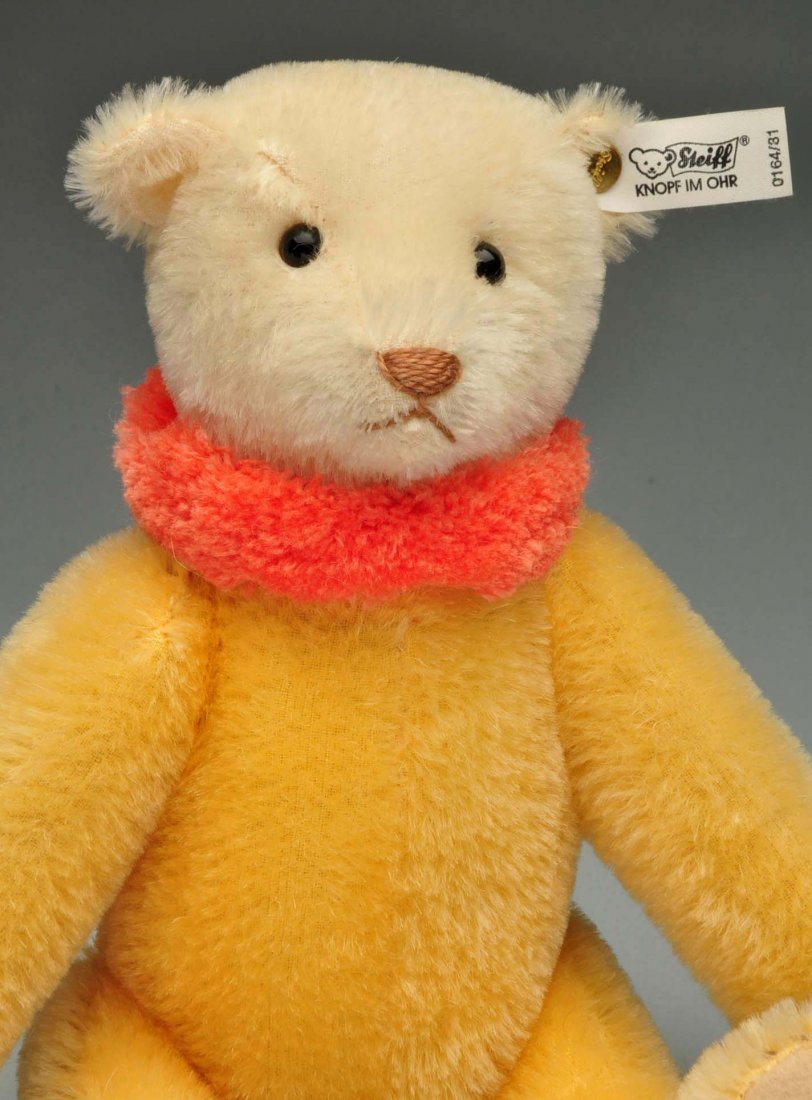 Lot Of 4: Mohair Limited Edition Steiff Replicas. - 10
