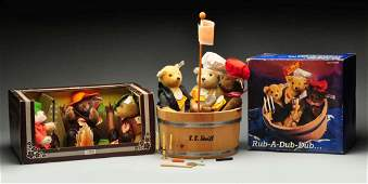 Lot Of 2: Boxed Sets Of Steiff Collectibles.