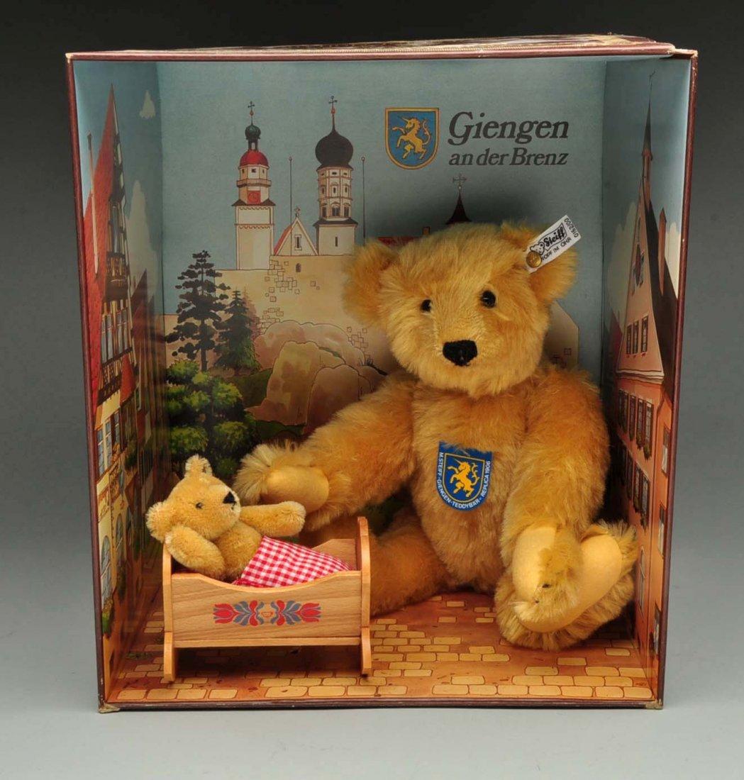 "Steiff's Limited Edition ""Giengen Teddy Bear Set""."