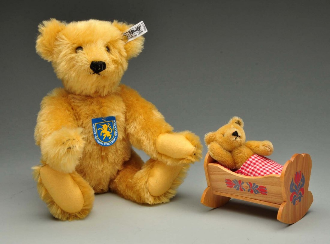 "Steiff's Limited Edition ""Giengen Teddy Bear Set"". - 5"