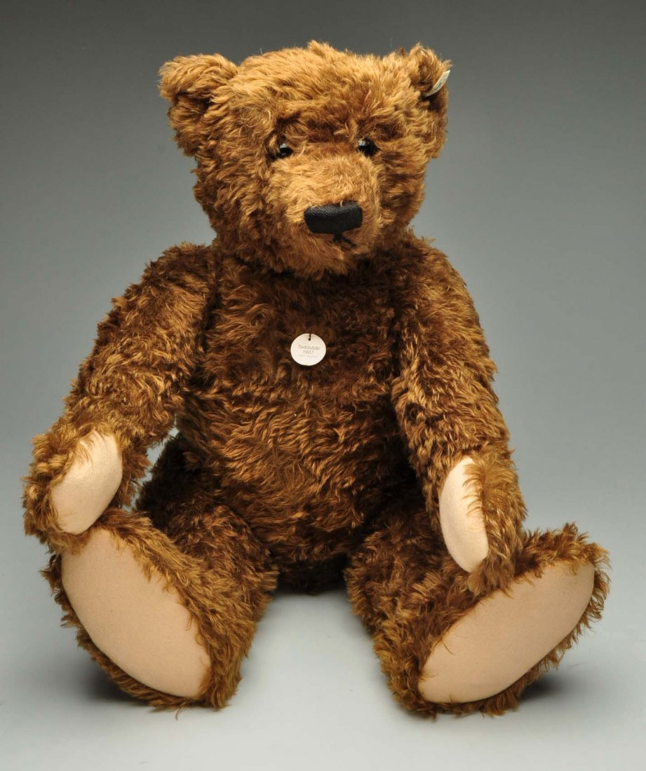 Large Steiff Brown Mohair Bear With All IDs. - 2