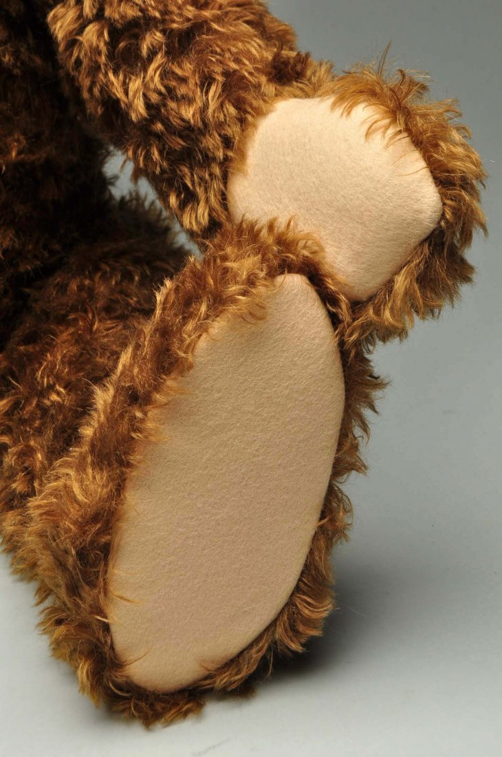 Large Steiff Brown Mohair Bear With All IDs. - 6