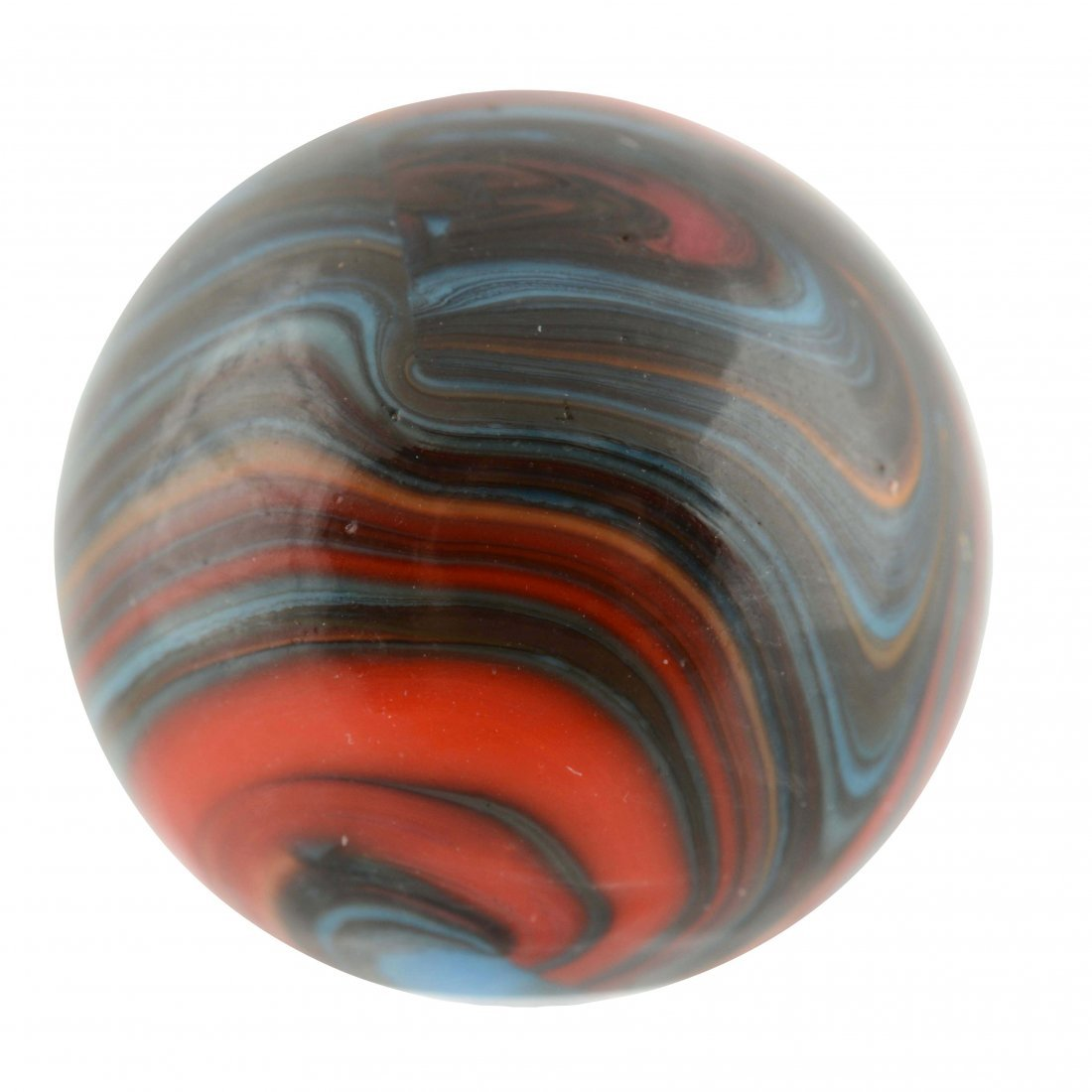 Christensen Agate Stripped Opaque Marble.