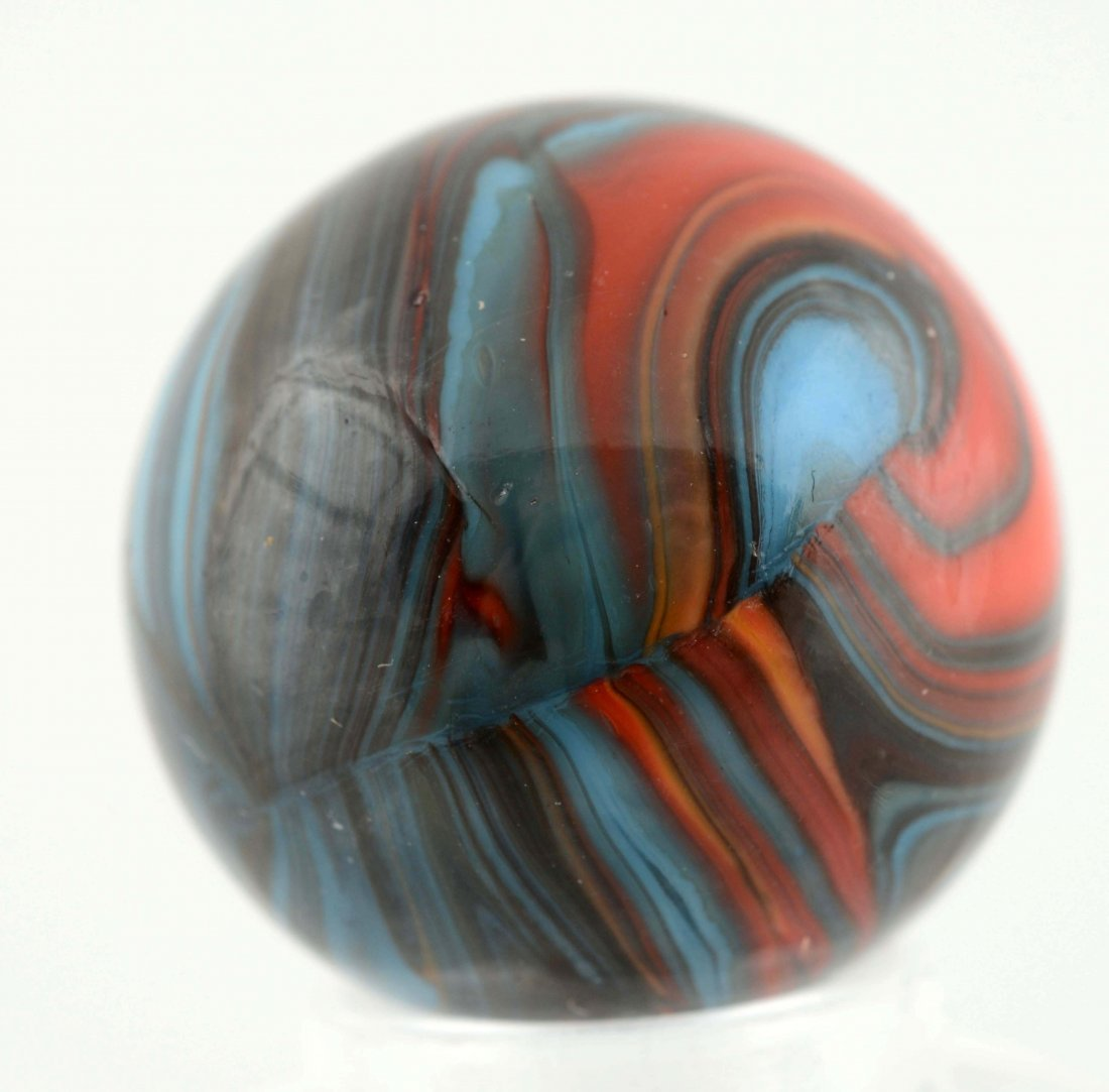 Christensen Agate Stripped Opaque Marble. - 6