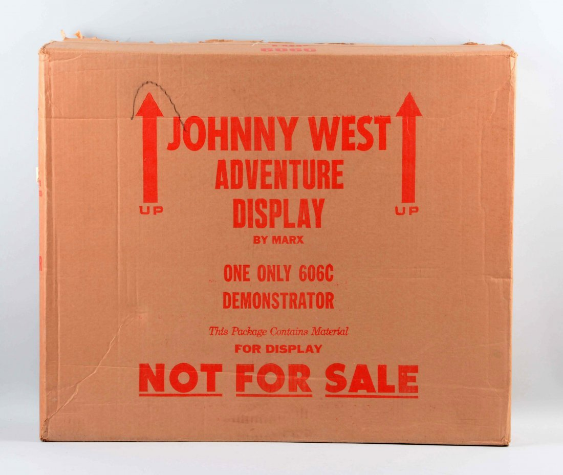 Rare Marx Johnny West Store Display. - 2