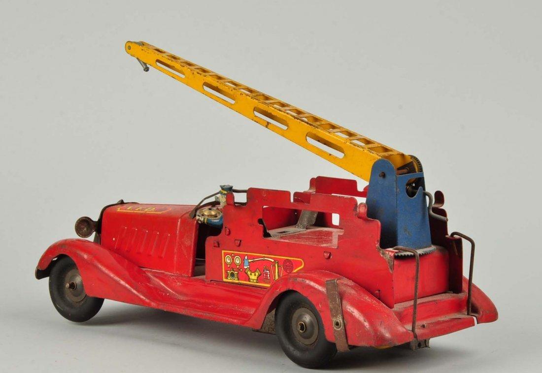 Marx Wind Up Pre War Water Tower Truck. - 2