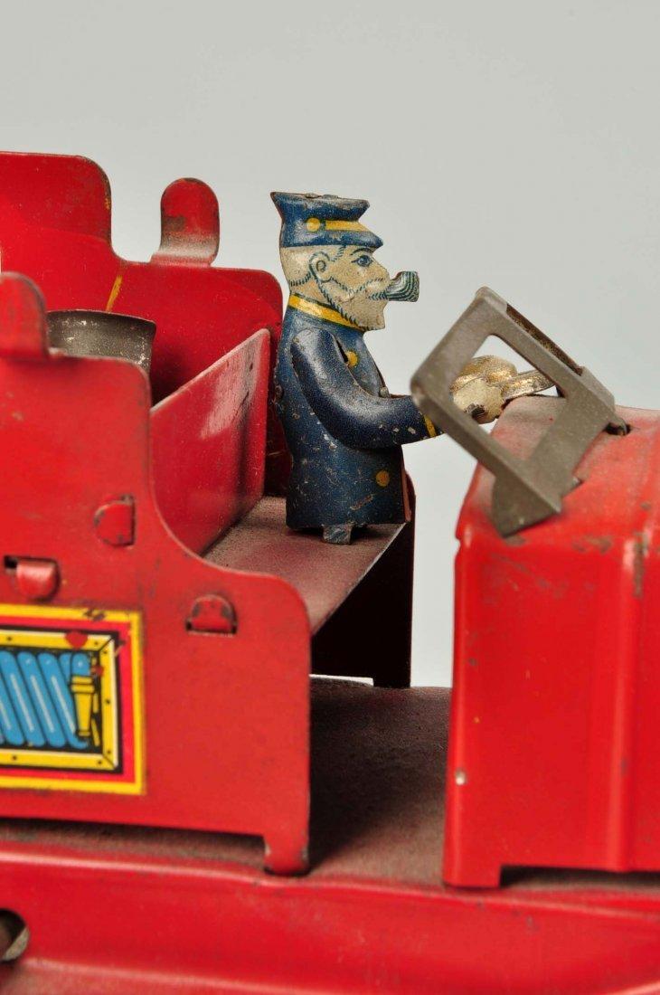 Marx Wind Up Pre War Water Tower Truck. - 4