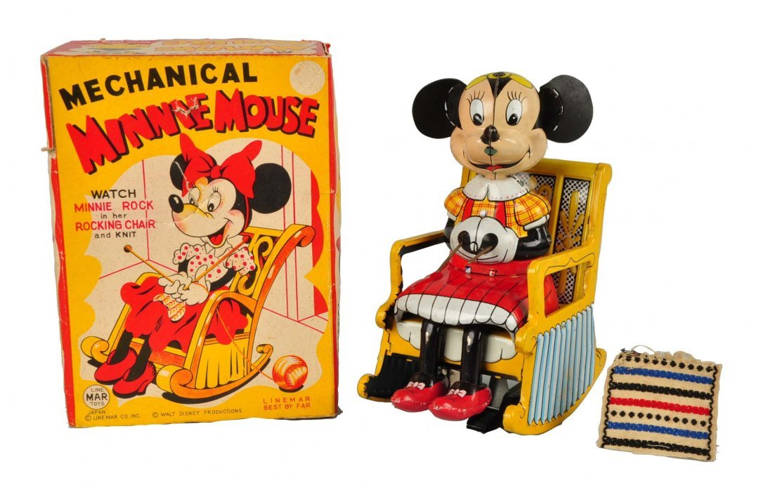 Japanese Disney Minnie Mouse Knitting Toy.