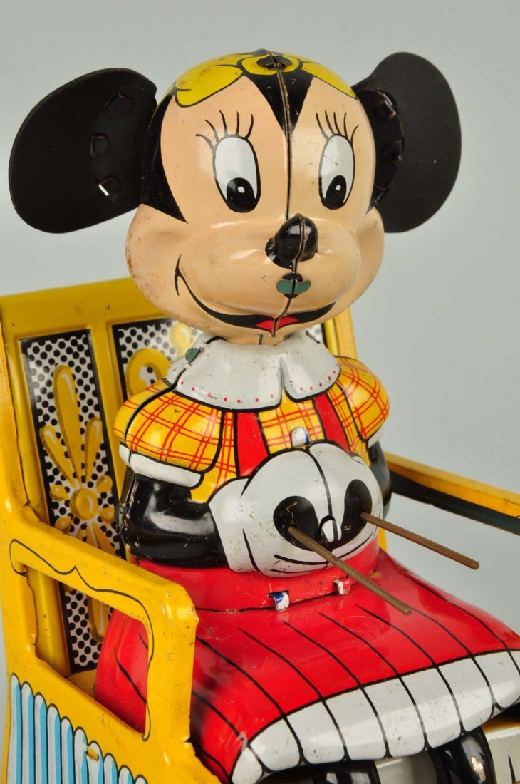 Japanese Disney Minnie Mouse Knitting Toy. - 6