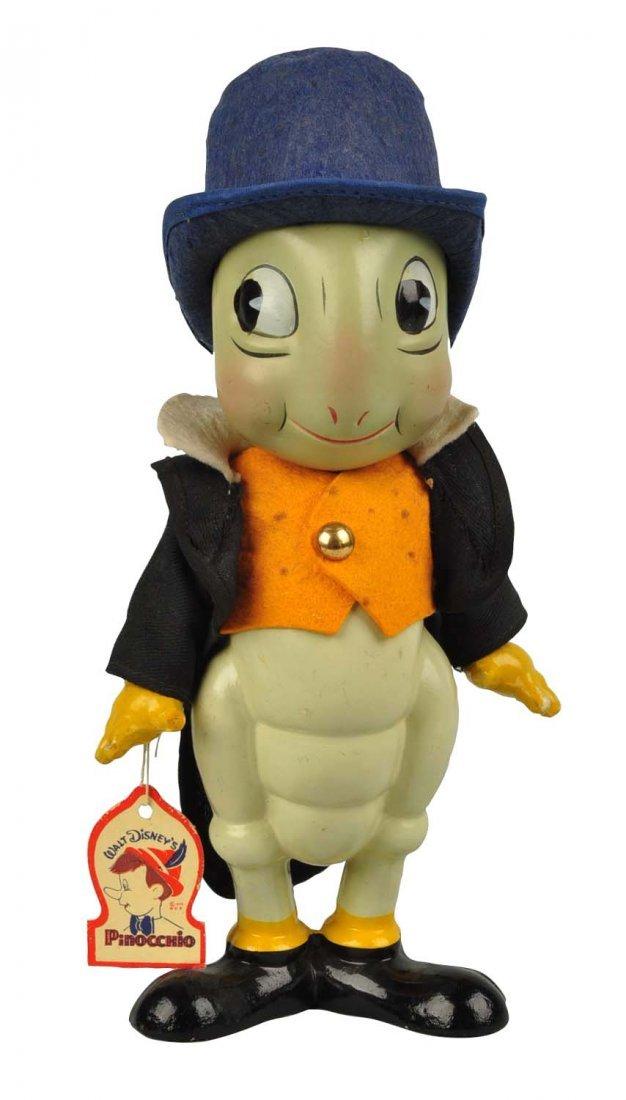 Walt Disney Knickerbocker Jiminy Cricket Figure.
