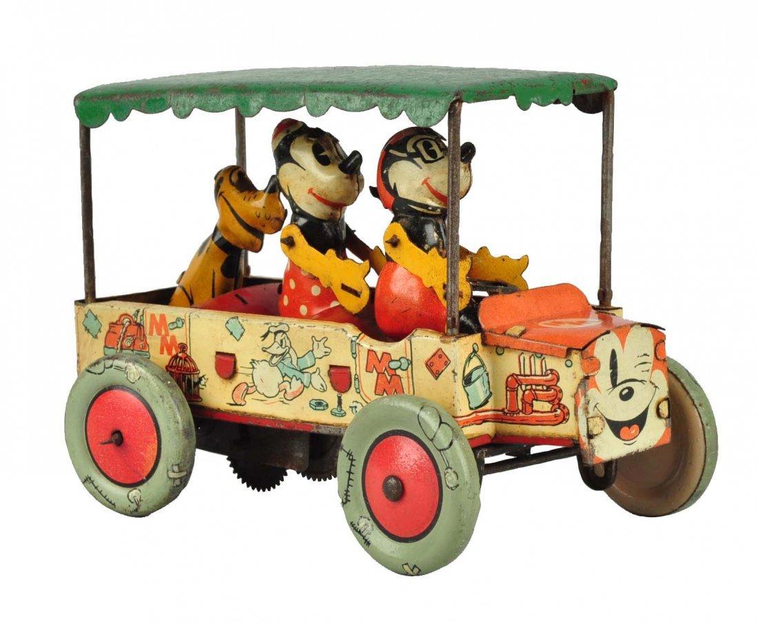 Ultra Rare English Disney Mickey Mouse Krazy Kar.