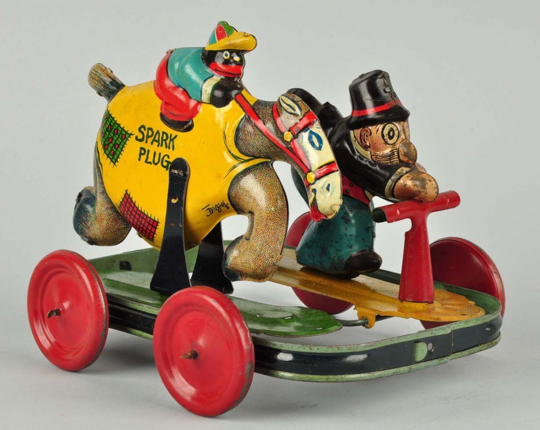 German Nifty Barney Google & Spark Plug Toy. - 2