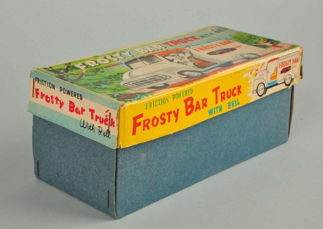 Japanese Tin Litho Friction Ice Cream Truck. - 3