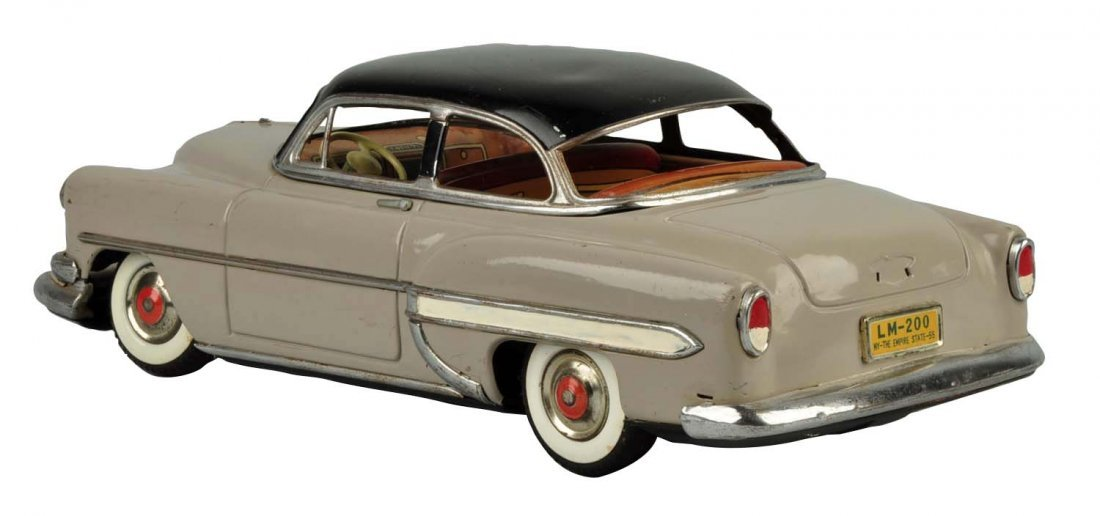 Japanese Marusan Tin Litho Friction '54 Chevy.