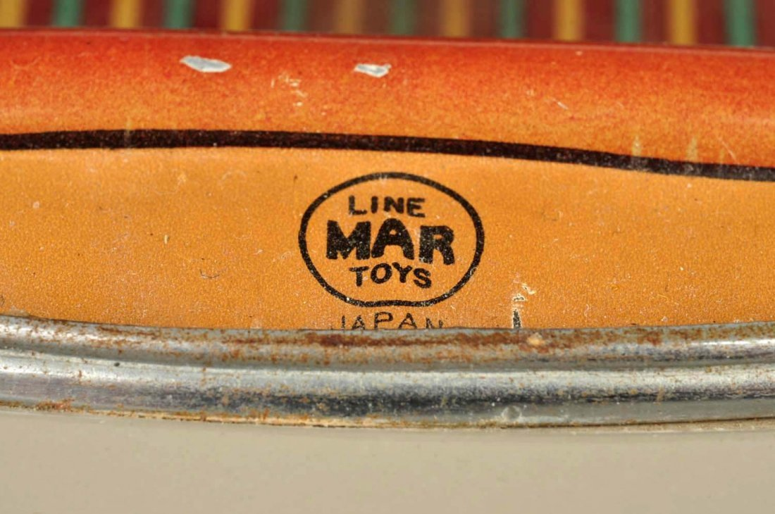 Japanese Marusan Tin Litho Friction '54 Chevy. - 5