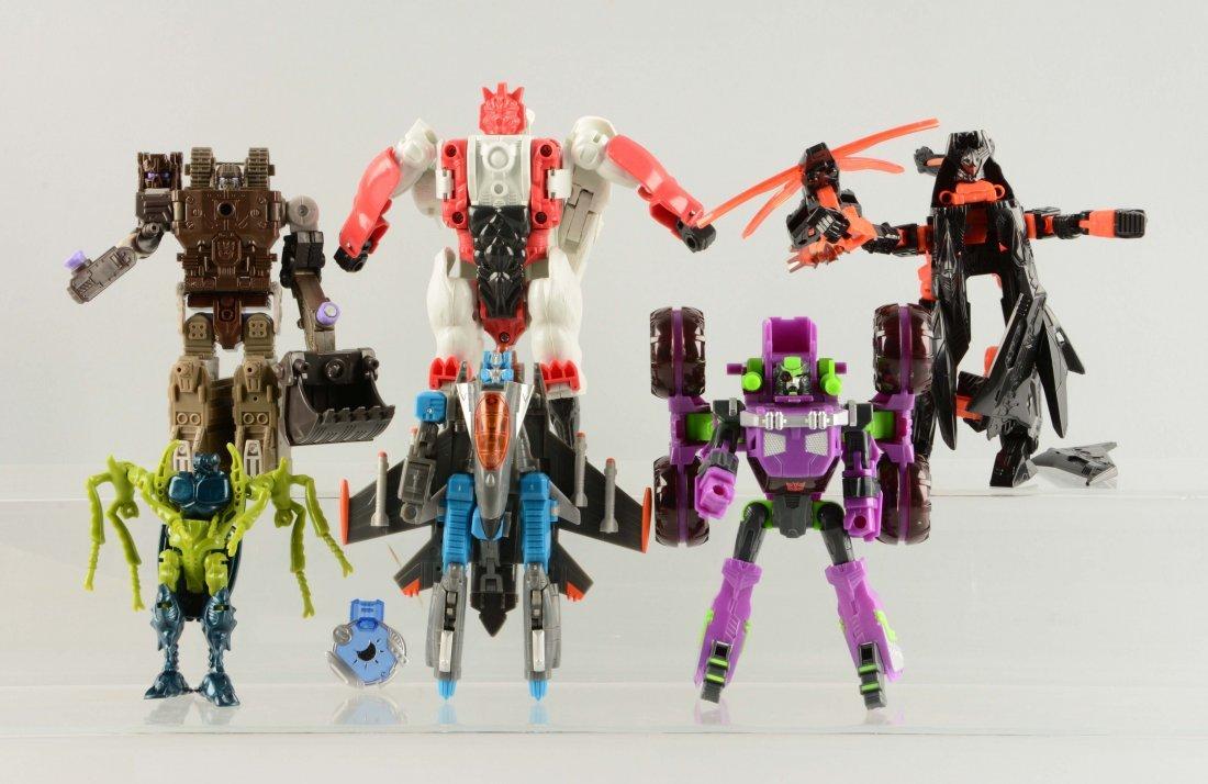 Lot Of 6: 1990-2000 Transformer Prototypes.