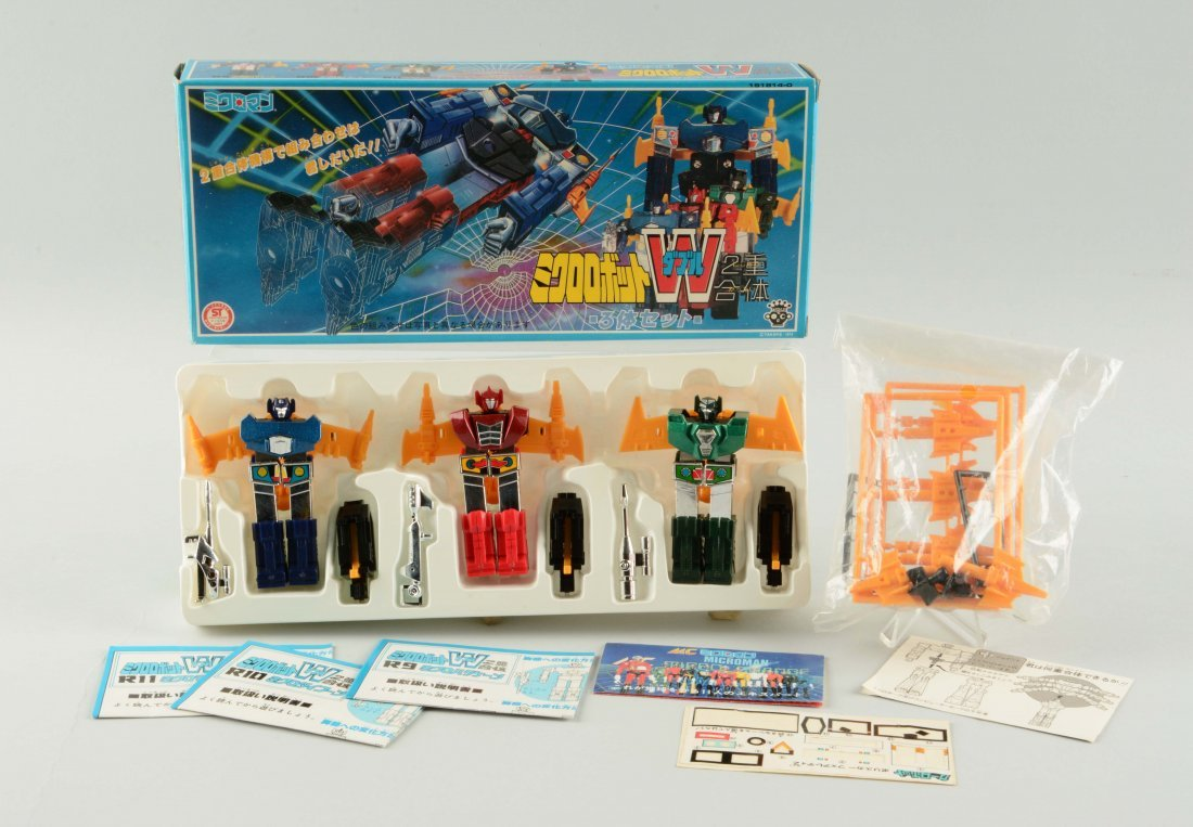 "Rare ""W"" Robot by Takara."