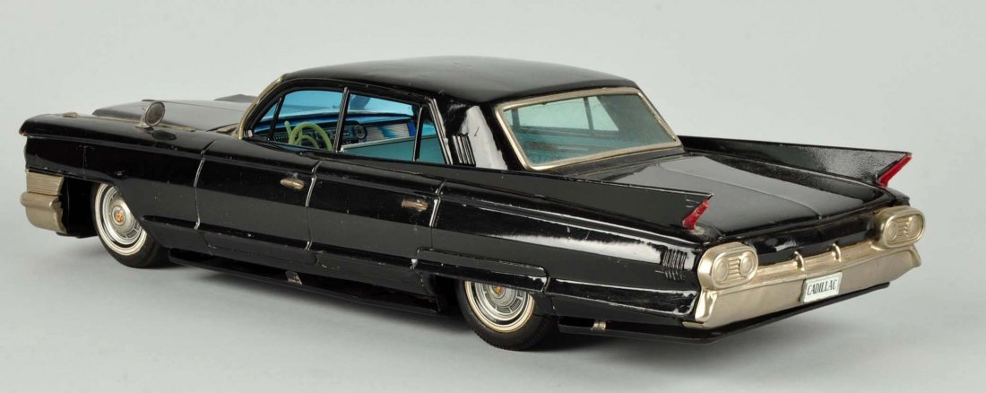 Japanese Tin Litho Friction Cadillac Sedan. - 2