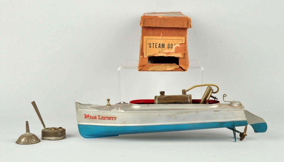 Pre War Japanese Miss Liberty Steam Boat. - 2