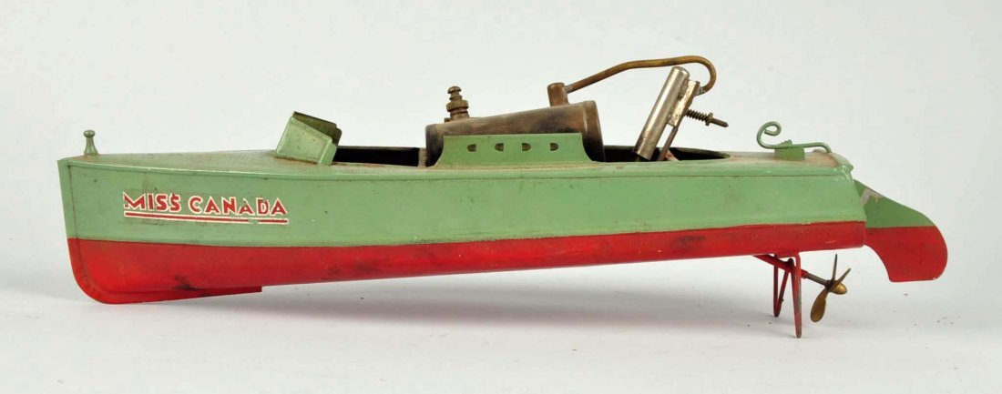 Japanese Pre War Miss Canada Steam Boat. - 2