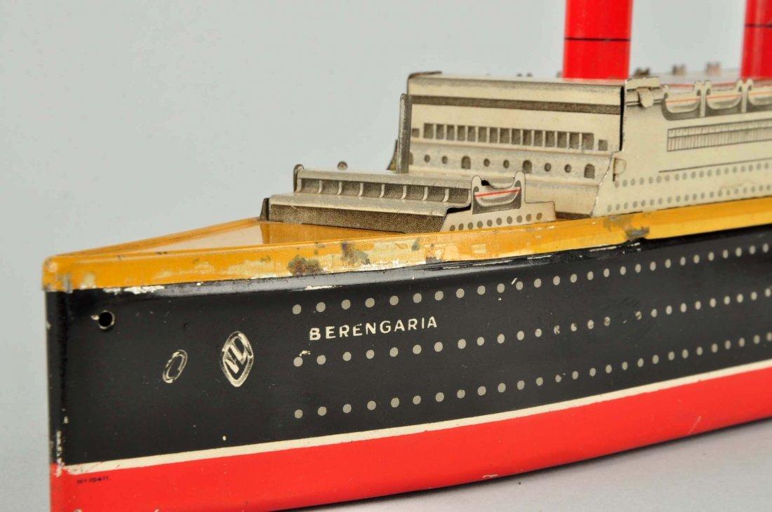 English Pre War Crawford's Berengaria Biscuit Tin. - 3
