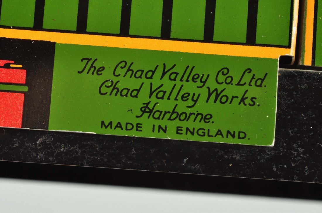 English Litho Wind Up Chad Valley Advertising Van - 4