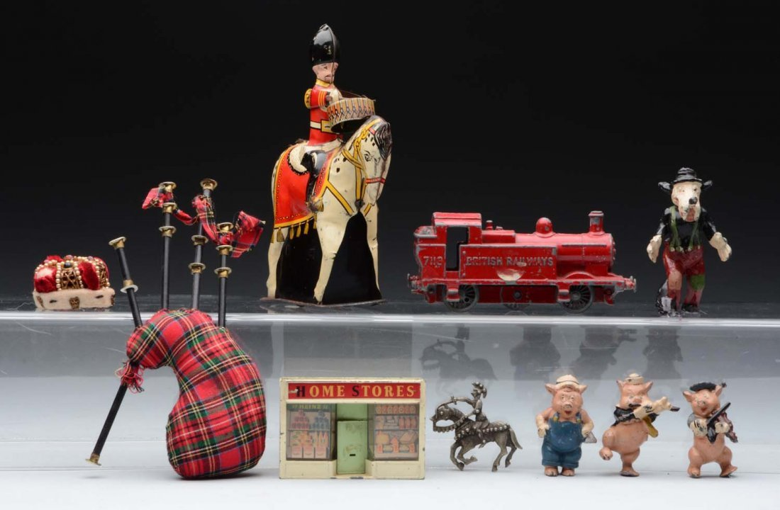 Lot of British Toys.