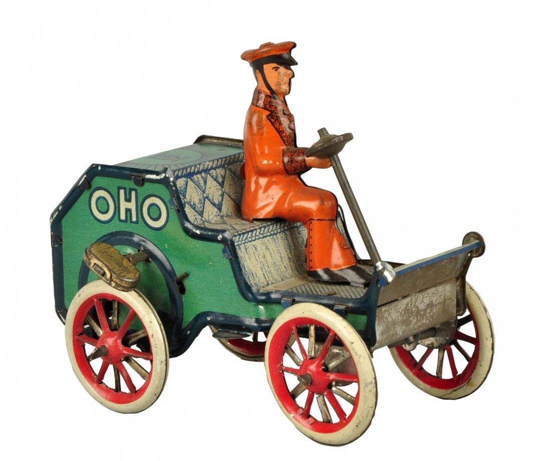 German Lehmann Tin Litho Wind Up Oho Car.