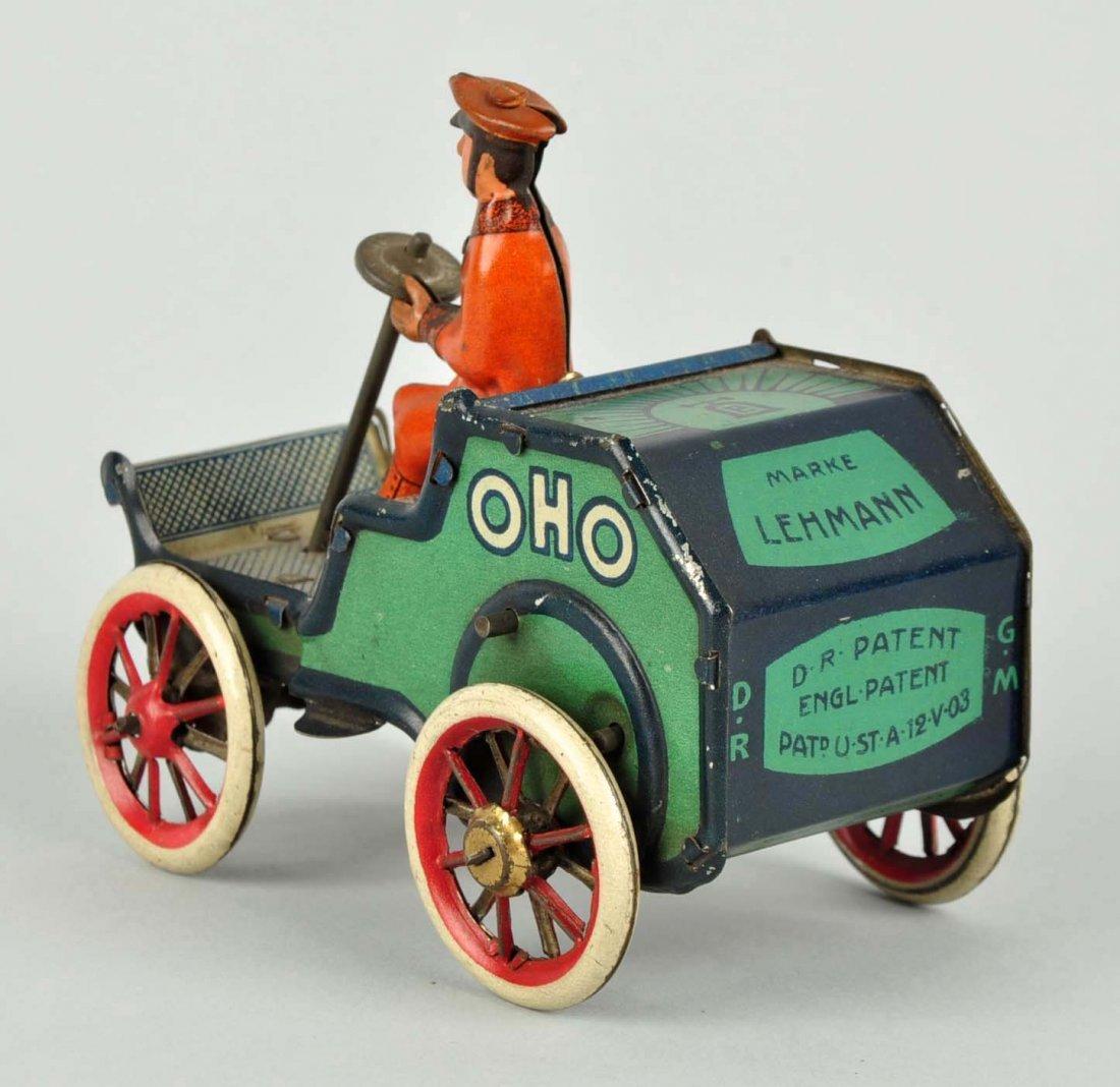 German Lehmann Tin Litho Wind Up Oho Car. - 2