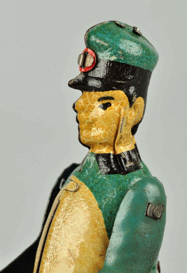 German Stock Tin Litho Wind-Up Paddy's Pride Toy. - 7