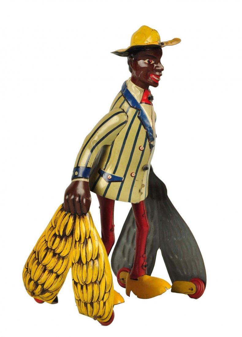 German Distler Tin Litho Wind-Up Banana Man Toy.