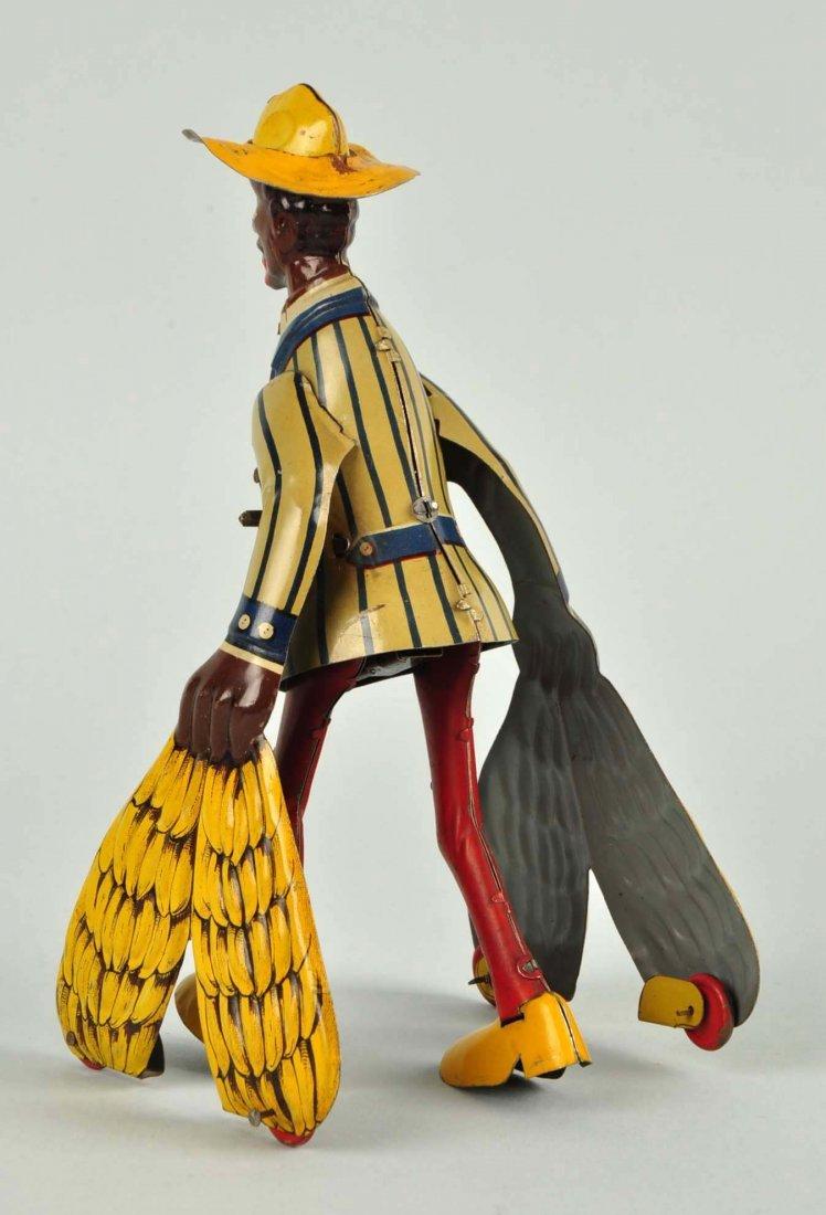 German Distler Tin Litho Wind-Up Banana Man Toy. - 2