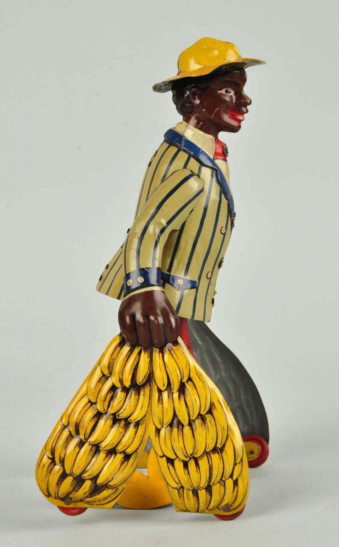 German Distler Tin Litho Wind-Up Banana Man Toy. - 3