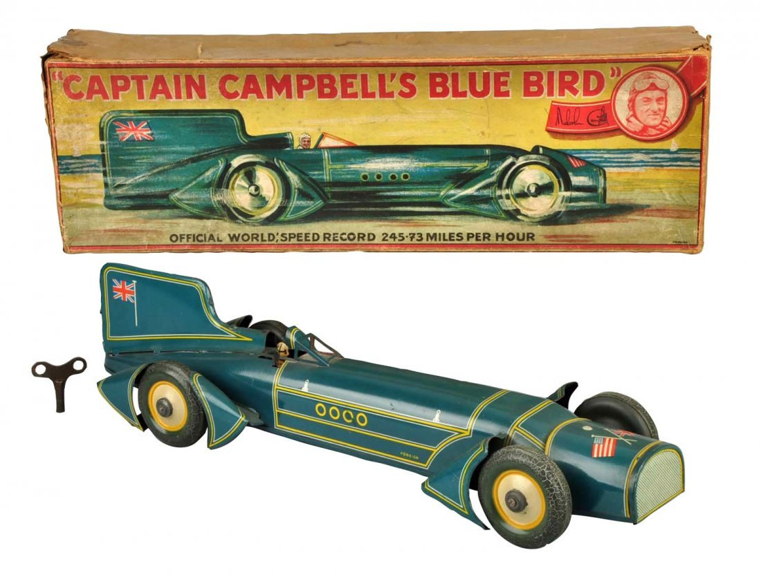 """German Gunthermann """"Captain Campbell's Blue Bird""""."""