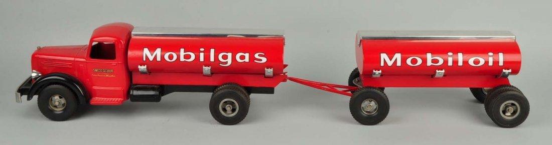 Pressed Steel Smith-Miller Mobilgas Tanker Truck. - 2