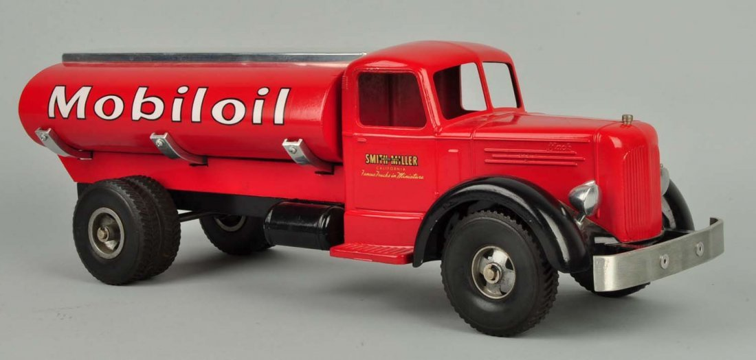 Pressed Steel Smith-Miller Mobilgas Tanker Truck. - 3