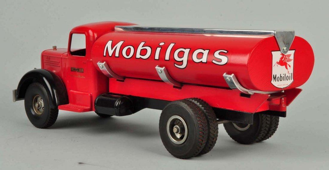 Pressed Steel Smith-Miller Mobilgas Tanker Truck. - 4