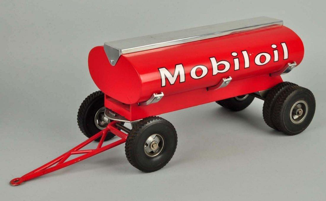 Pressed Steel Smith-Miller Mobilgas Tanker Truck. - 5