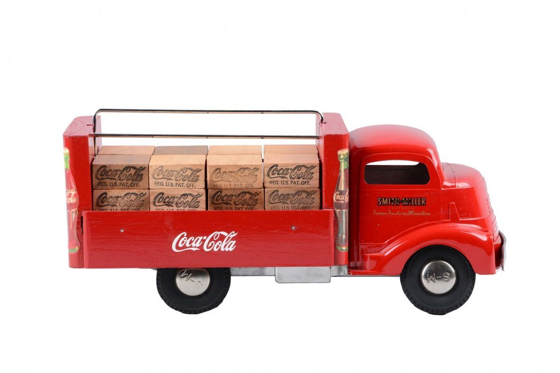 Pressed Steel Smith Miller GMC Coca-Cola Truck.