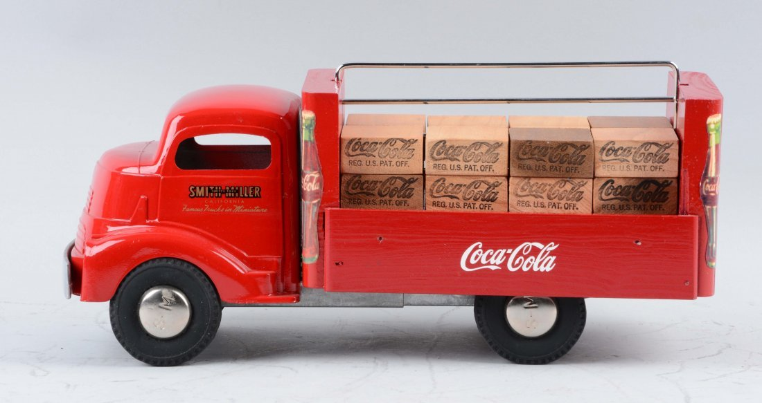 Pressed Steel Smith Miller GMC Coca-Cola Truck. - 2