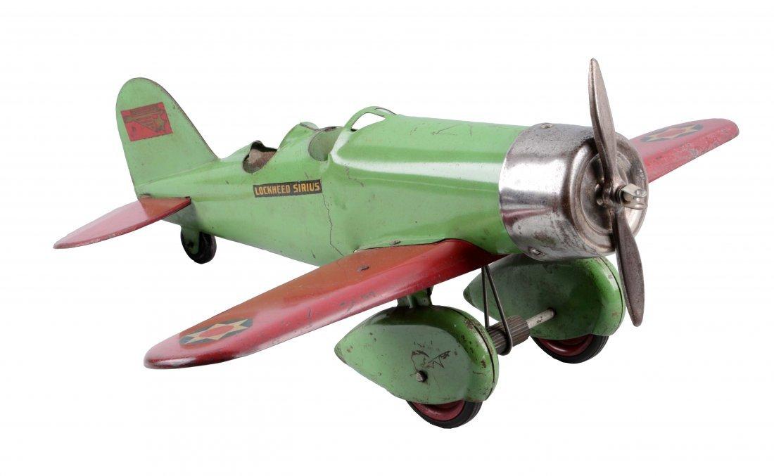Pressed Steel Kingsbury Lockheed Sirius Airplane.