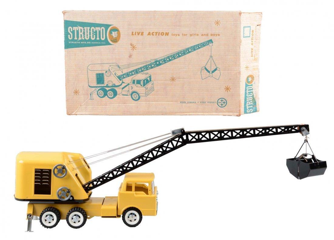 Structo Mobile Crane Truck No. 700.