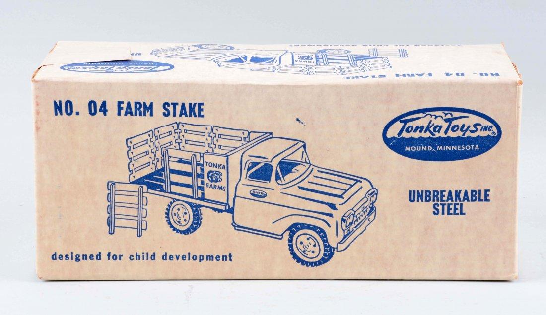 Pressed Steel Tonka Farm Stake Truck. - 2