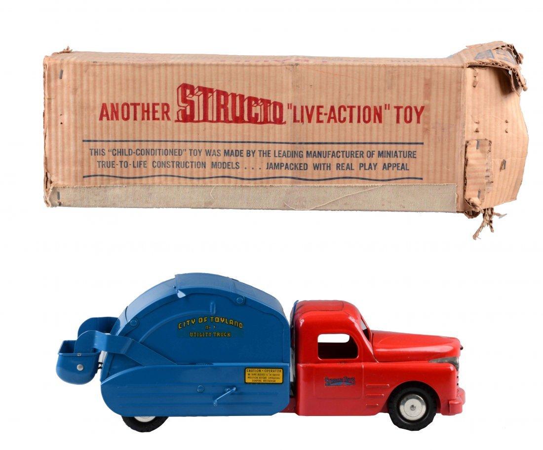 Structo Garbage Truck No. 500.